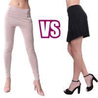 Sukňa alebo nohavice – večná dilema žien