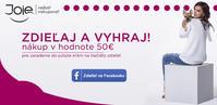 Súťaž o nákup v hodnote 50 EUR na www.joie.sk