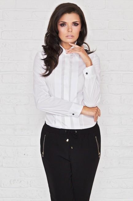 3abc415dffb7 Biela dámska košeľa IFM005 - JOIE.SK