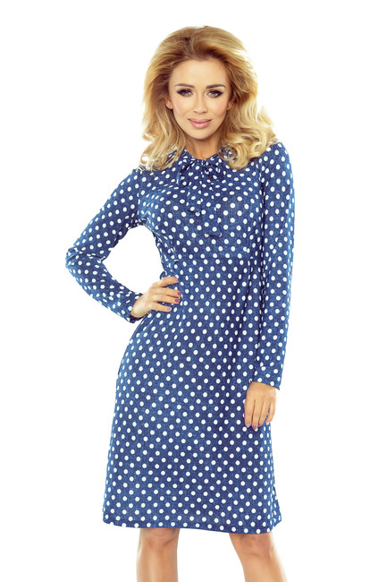 a1ba3c0c8c4f Bodkované šaty OLA s dlhým rukávom 158-1 zväčšiť obrázok