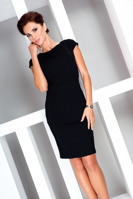 90aefe0111de Čierne puzdrové šaty 37 3 - JOIE.SK