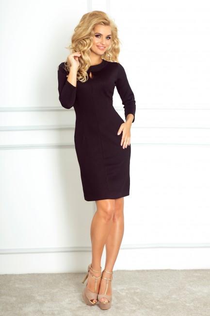 e38b218eae41 Kratké čierne puzdrové šaty so slzou 67-1 - JOIE.SK