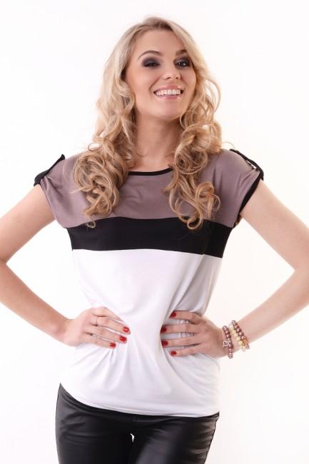848066a999f6 Elegantné dámske tričko OX 8112 - JOIE.SK