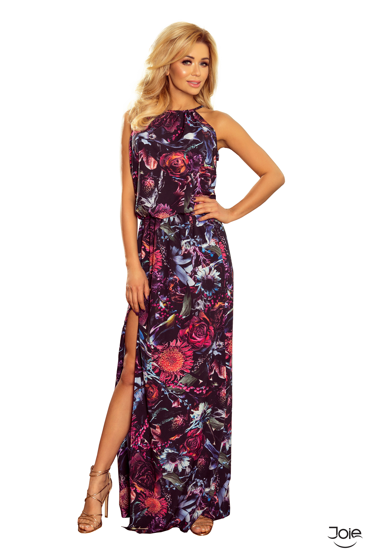 Kvetované letné maxi šaty 191-1 zväčšiť obrázok 8c145178f9d
