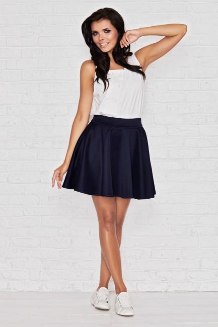 45877fff622d Modrá letná áčková sukňa IFM008 - JOIE.SK