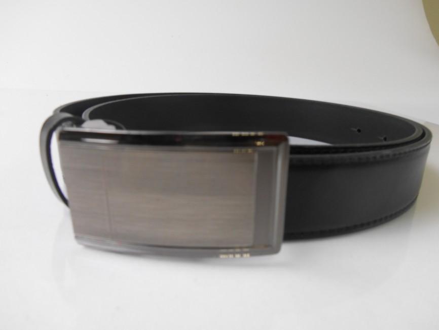 666349f14 Pánsky kožený opasok v čiernej farbe PM-3-ČK2 - JOIE.SK
