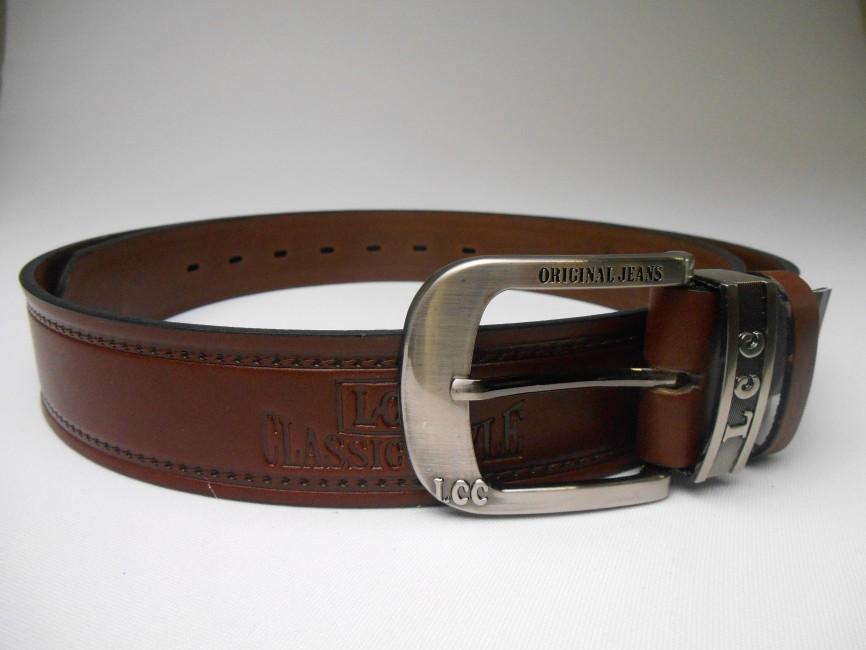 36fe6a92c70e Pánsky kožený opasok v tmavohnedom prevedení PM-4-THP3 - JOIE.SK