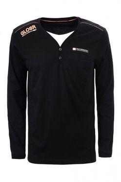Čierno-oranžové tričko MXC1920