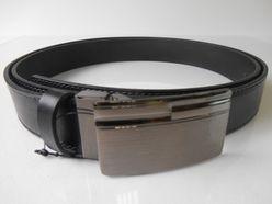 Čierny opasok z pravej kože PM-3-ČK1