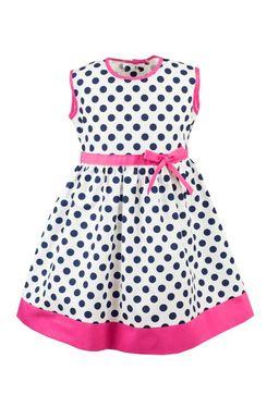 Dievčenské šaty Olena modro-ružové