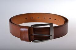 Hnedý kožený opasok PM-4-HP6