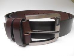 Hnedý kožený opasok PM-4-THP1