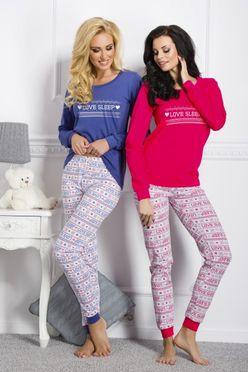 Ružové pyžamo Zuza 1022