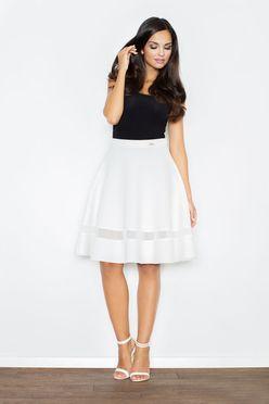 Smotanová kruhová sukňa M367