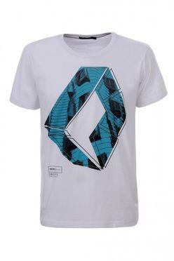 Biele pánske tričko MPO1987
