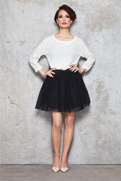 Čierna áčková dámska sukňa IFM046