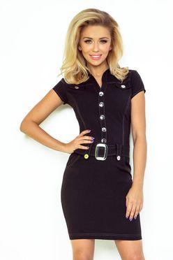 070aa32b82 Čierne puzdrové šaty s čipkou 145 1 - JOIE.SK