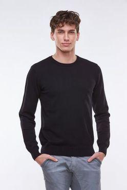beee47663a59 Čierny pánsky sveter MMY-1811