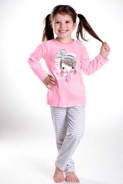 Dievčenské pyžamo Mia 1004 ružové