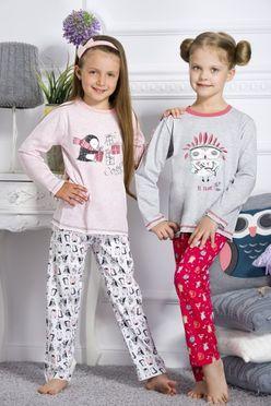 Dievčenské pyžamo ODA 1167 ružové