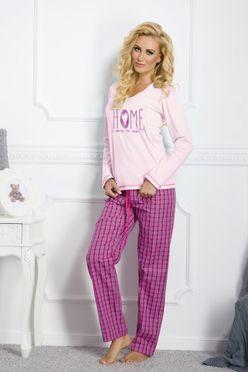 Flanelové dámske pyžamo Larysa 1197