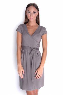 Kapučínové letné dámske šaty OX 5416