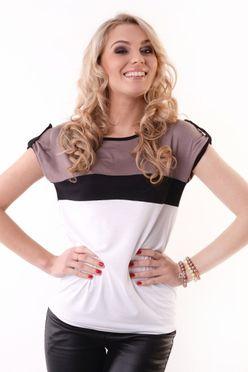 Elegantné dámske tričko OX 8112