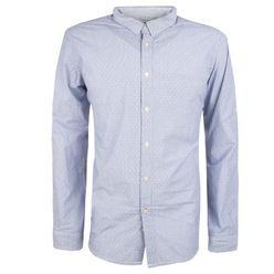 Modrá pánska košeľa MCS 9659 plaid