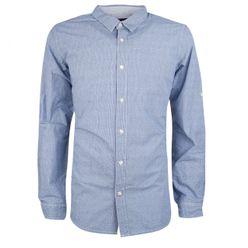 Modrá pánska košeľa MCS 9659 strip