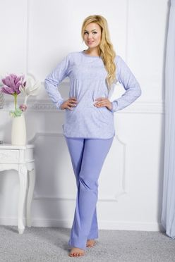 Modré dámske pyžamo Boženka 145