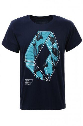 Modré pánske tričko MPO1987