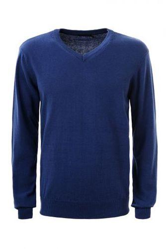 Modrý pánsky sveter MMY-1811