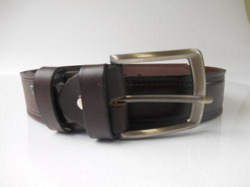 Pánsky kožený opasok v tmavohnedom prevedení PM-4-THP4