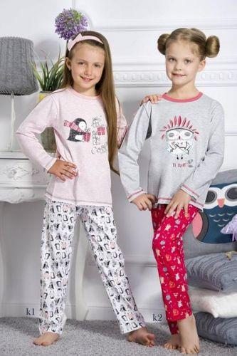 Dievčenské pyžamo ODA so sovou
