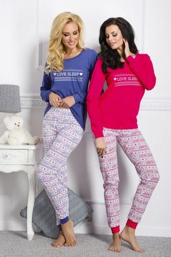 Ružové dámske pyžamo Zuza 1022