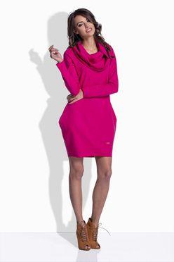 Ružové dámske šaty s vreckami Kiara