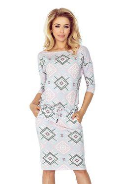 Dámske šaty v pastelových farbách 13-60 2fde72d1d74