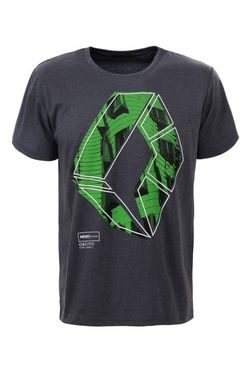 Šedé pánske tričko MPO1987