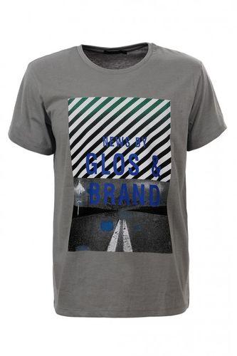 Šedé pánske tričko MPO1993