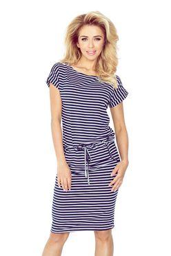 Športové šaty v námorníckej modrej 139-1