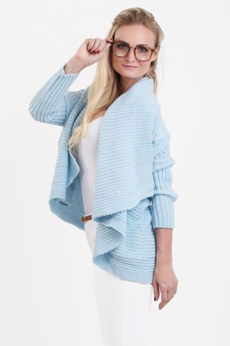 Svetlomodrý dámsky sveter ELZA