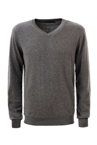 Svetlosivý pánsky sveter MMY-1811