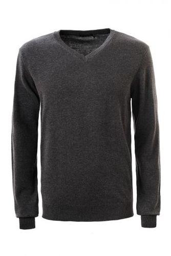 Tmavosivý pánsky sveter MMY-1811