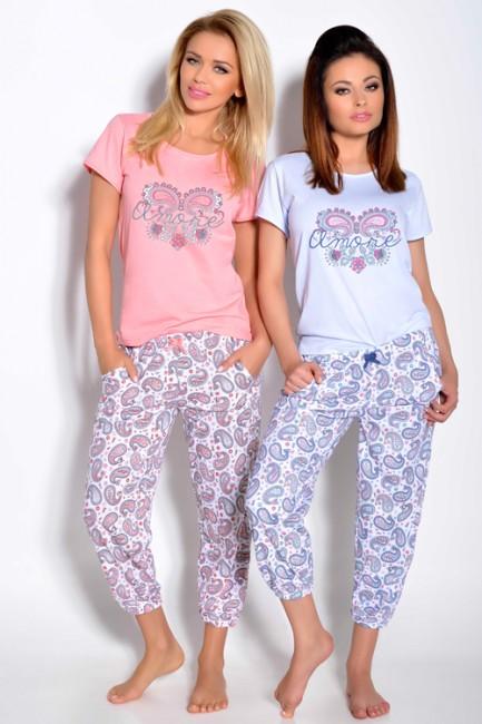 8e138f24f Ružové dámske pyžamo CLEO - JOIE.SK