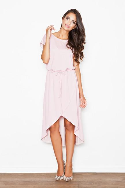 Ružové šaty M394 zväčšiť obrázok cf55feaf3a6