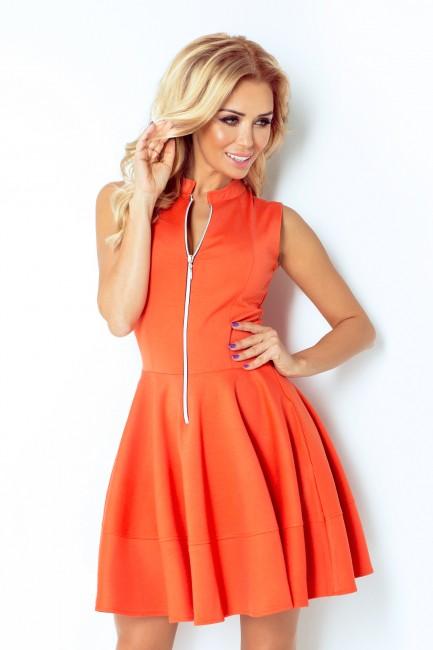 f7547e6fac4d Krátke dámske šaty so zipsom 123 5 - JOIE.SK