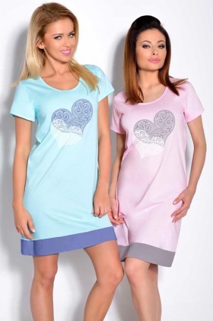 e16acb697025 Tyrkysová dámska nočná košeľa VIVA 823 zväčšiť obrázok