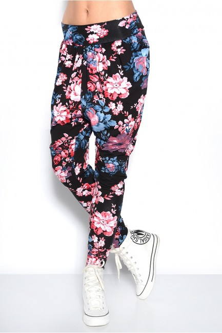 ea71cfc5bd2b Vzorované dámske háremové nohavice OX1086 2 zväčšiť obrázok
